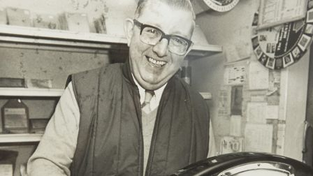 Ray Bartram, owner of Bartram's pet food store, has died aged 87. Picture: Courtesy of Ray Bartram's