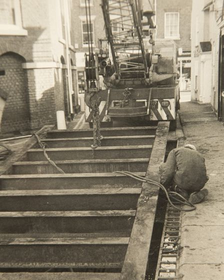 Ray Bartram, owner of Bartram's pet food store, used to run the Beccles weigh bridge. Picture: Court