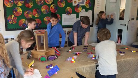 Pupils at Worlingham CEVC Primary School immersed themselves in a week of 'Patterns in Art'. Photo: