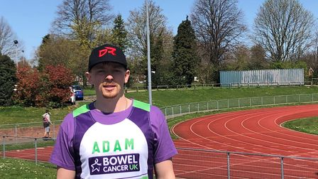 Adam Davies is taking on the London Marathon in memory of Beccles DJ Neil Aldred. Picture: Courtesy