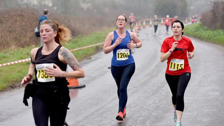 Bungay 2018 Festival of Running.Runners near the end of the 10K race.Picture: Nick Butcher