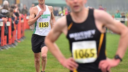 Bungay 2018 Festival of Running.Runners finishing the 10K race.Picture: Nick Butcher