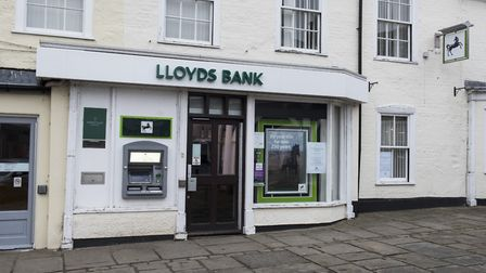 The Bungay branch of Lloyds bank has closed. Picture: Nick Butcher