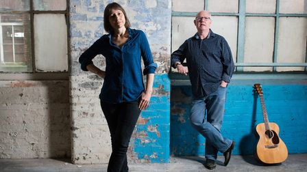 Clive Gregson and Liz Simcock are coming to Beccles. Photo: Sara Porter.