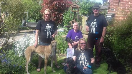 Louise Clarke is organising a companion dog show to in aid of prostate and ovarian cancer. Photo cou