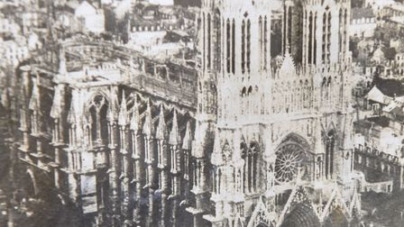 A selection of photographs from the album of Alan Verso Clarke from Bungay detailing his time during