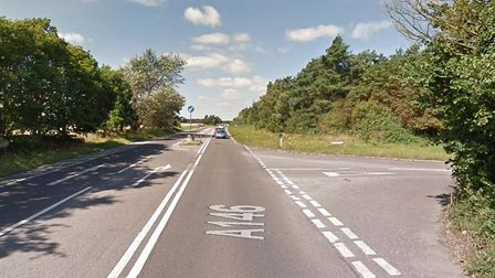 The turn off at Marsh Lane on the A146. Picture: Google