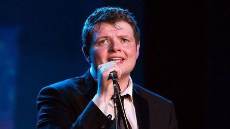 Beccles crooner Tome Elgie will be hosting 'Young Talent @ the Hall'. Photo: Tom Elgie.