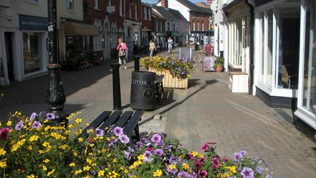 Filming will take place at the Thoroughfare and the town's campus site on May 1 and 2. Picture: Arch