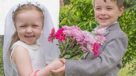 There was a Royal Wedding get-together at The White Horse in Chedgrave. Picture: Jane Vass