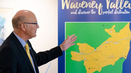 The launch of the Waveney Valley LEADER project. Photo: Waveney District Council.