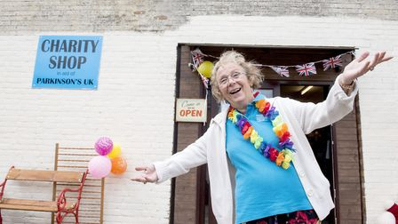 Vickie Cunnane outside the new home for the Chedgrave Parkinson's charity shop.Picture: Nick Butcher