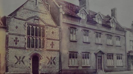 The buildings exhibition at St Mary's Church, Bungay. Picture: Andrew Atterwill