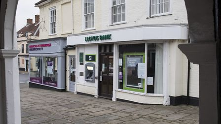 The former Bungay branch of Lloyds bank. Picture: Nick Butcher
