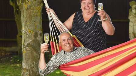 Lottery winners Richard and Sue Stebbings talk about life after winning £5.6m on the lottery in 2010