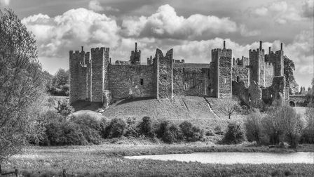 Castle on the Hill by Bungay Camera Club member Ray Mason.