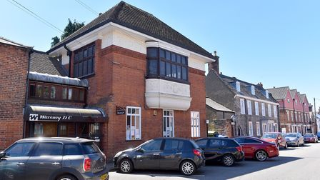 The town council chambers in Broad Street, Bungay. Picture: Nick Butcher