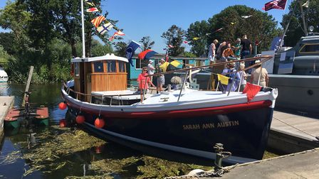 The public was able to view a number of majestic vessels at Beccles Charter Weekend. Picture: Thomas