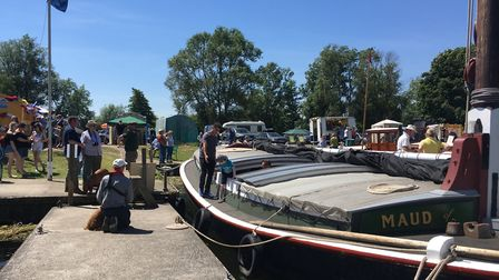 One of the many attractions at Hippersons Boatyard was the historic wherry ?Maud?. Picture: Thomas C