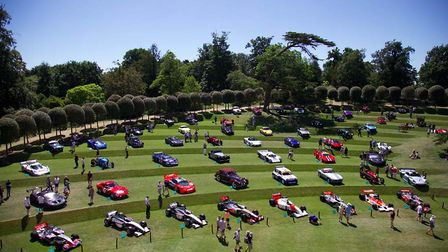 Heveningham Hall Concours d'Elegance 2018. Picture: Isabel Pritchard-Smith