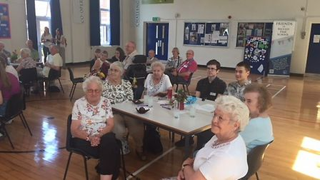 The Muncheon Mingle event at Beccles Free School. Picture: Waveney District Council.