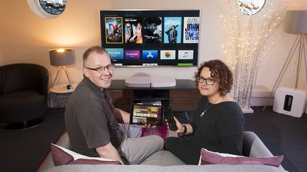Customised, a home technology business, has seen an upturn in interest during the World Cup. Picture