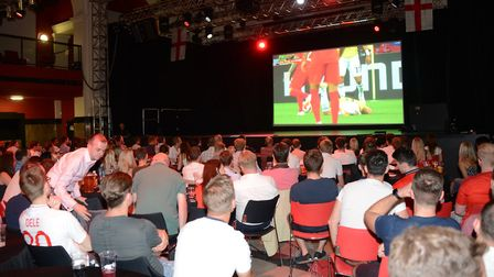 England fans are desperate for the best possible viewing experience during the World Cup. Picture: A