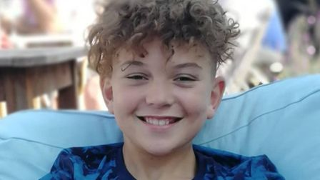 Isaac Phillips will be performing on ITV's The Voice Kids. Picture: Judy Phillips.