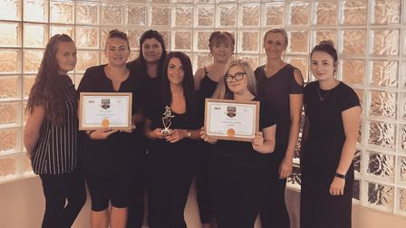 Cabello hair salon, in Halesworth, has won 'top rated salon' at the British Hair and Beauty Awards.