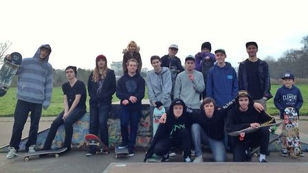 The Beccles Skatepark Community and Beccles Town Council have raised £150,000, Photo: Beccles Skatep