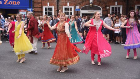 The Beccles Carnival parade. Picture: DENISE BRADLEY