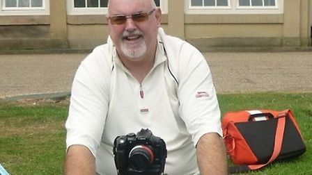 Nick Barber, from Beccles. Blind veteran Mr Barber's photography is celebrated this World Photograph
