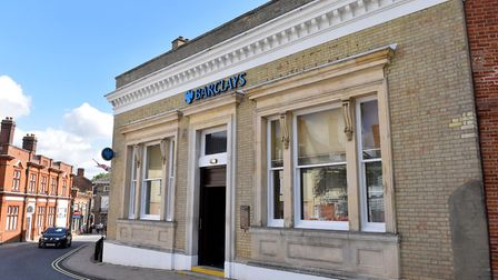 Barclays Bank has announced the closure of the Halesworth branch.Picture: Nick Butcher