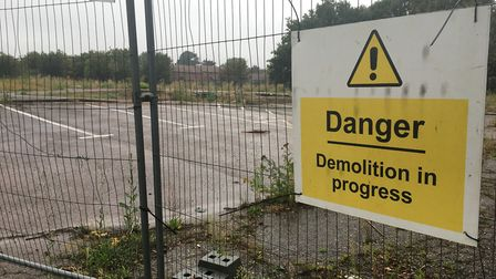 The facility will be built on the former site of Worlingham Primary School. Photo: James Carr.