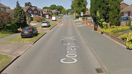 Coney Hill, Beccles. Photo: Google.
