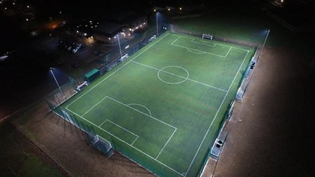 A 3G pitch, which Beccles Town Football Club will soon build. Picture: FA.
