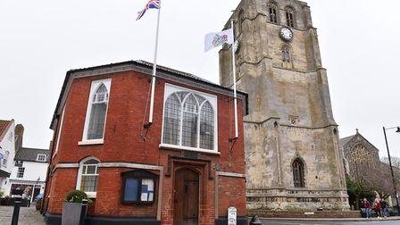 Beccles Town Hall. Picture: Nick Butcher