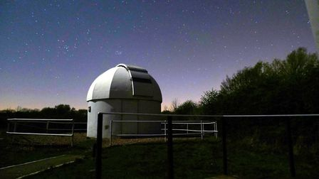 The Seething Observatory, near Bungay. Picture: Norwich Astronomical Society