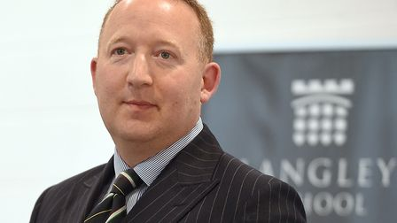 Lt Col Mark Nicholas MBE is the new chairman of the governing body for Langley School. Photo: Langle