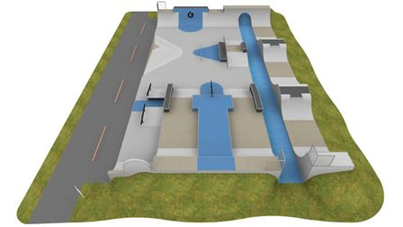 Plans for the Beccles skatepark have been released with the sporting area set to be finished as earl
