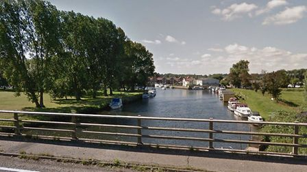 Firefighters were called after a propane cylinder caught fire on a boat in Beccles. Picture: Google