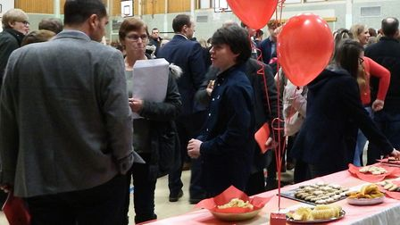 More than 400 students, parents and carers celebrated the record-breaking achievements of Bungay Hig