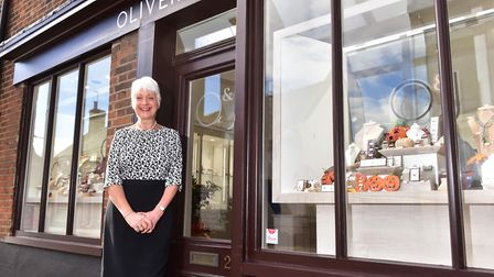 Beccles GP, DR Renee Kathuria has opened a jewellry shop in the town.PHOTO: Nick Butcher