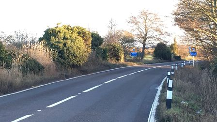 The speed limit on Haddiscoe bends has been lowered to 40mph as part of a new safety scheme. Picture
