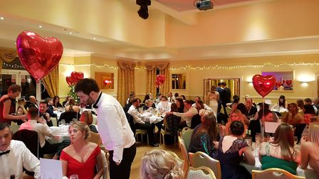 Aiden's Gift recently staged a Valentine's Ball at The Waveney House Hotel. Photo: Aiden's Gift.
