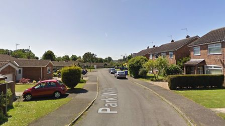 A pick-up truck has been stolen from a home in Park Walk, near Halesworth. Photo: Google