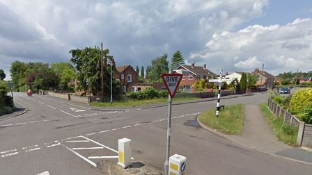 Loddon Road at the junction of Hollow Hill Road, in Ditchingham. GOOGLE MAPS