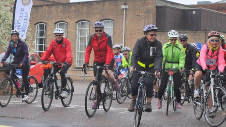 The Beccles Cycle for Life charity cycle ride returns this Sunday, May 12. Picture: John Swanbury