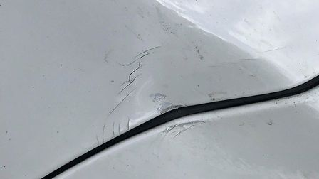 Drivers have reported being pelted with objects while on the A146. Gary Friend was at the Barnby ben