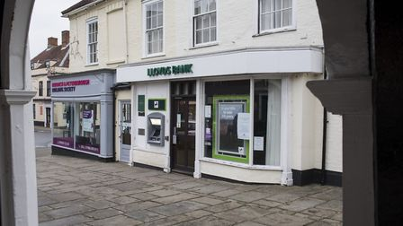 The former Lloyds bank in Bungay, which closed in May 2018. Picture: Nick Butcher